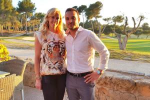 Black Velvet Auftritt Golf Diamonds Trophy Poniente Mallorca