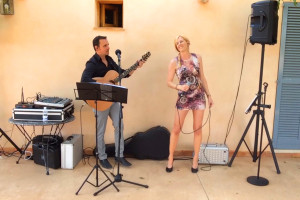 Black Velvet Auftritt Mallorca Paguera